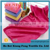 customed plain hand towel Microfiber Hand Face Towel 6115 35*75 Wendy Brand Made in China Gaoyang Town