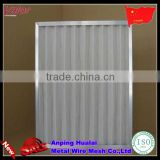 Low Penetration Mini pleated Mini-pleat Filter Air Filter Air Conditioner Mesh