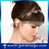 Leaves Head Hair Cuff Korean Fashion Hair Chain Accessories Elastic Band Headband H0001                                                                         Quality Choice