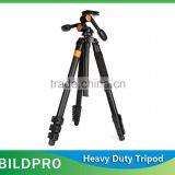 BILDPRO Wholesale Video Tripod Camera Stand Camcorder Tripod 20kg Heavy Load Capacity