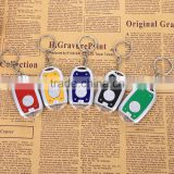 Metal Led keychain with bottle opener