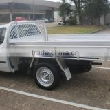 Aluminium single cab pickup tray body