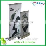 New high quality Custom aluminium roll up banner and out door banner for advertising high quality aluminum roll up