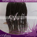 Synthetic Hair Micro Braided Lace Wigs