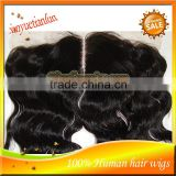 13x4 Wholesale 5A Grade Cheap 100% Brazilian Virgin Human Hair Full Lace Frontals With Baby Hair,Lace Front Frontal