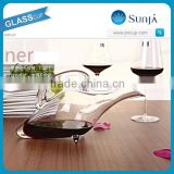 NO.X012 1100ml firm and stable wine decanter with handle for widely use