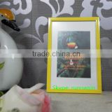 Wholesale colorful standing and wall hanging 4x6 PVC plastic picture photo frame