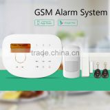 Newest alarm system wireless alarm system work with door bell support dingdong function & home security wireless alarm system