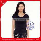 China supplier wholesale custom women cheap blank tshirt no lable                                                                                                         Supplier's Choice