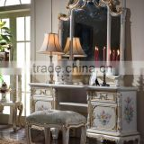 Italian style furniture-dressing table Italian furniture-baroque european furniture