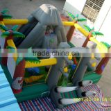 Lanqu Customize inflatable air castle jumping inflatable