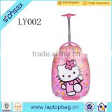 wholesale custom high quality hello kitty kids rolling school bag                                                                                                         Supplier's Choice