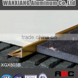 "Tile trim, 6063 T5 Aluminium flooring profile Connecting profile ""L"" shape-XGX803B"