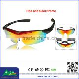 High Quality Riding Sports Glasses Cheap Eyewear Adjustable Goggle Sunglasses