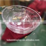 Factory hot sale clear glass dome clear plastic half ball acrylic half ball