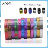 ANY DIY Using Nail Art Wave Stripping Sticker Nail Polish Sticker                                                                         Quality Choice