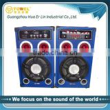 OEM professional outdoor active high quality stage monitor speakers for home theater/stage/phone