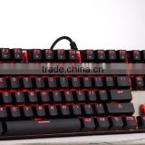 RGB Backlit Wired Mechanical Gaming Keyboard with Blue Switches