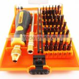 31/45 in 1 Mini Computer/Cell Phone/ Glasses Repair Chromium Plated Pentalobe Screwdriver Bits Kit