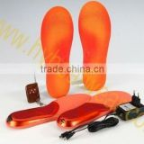 FOAM/EVA/RB heat/heating/heated EVA insole for shoes with rechargeable li-battery for winter outdoor sports