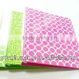 Binder clip ring file folder with full printing