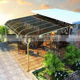2015 polycarbonate outdoor lounge chair with canopy/motorcycle canopy