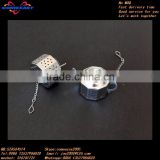 classical teapot style stainless steel wholesale tea bag holder