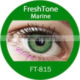 wholesale korea cosmetics colored contact lens KFDA approved fresh tone premium marine color contact lenses