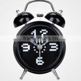 2013 new products metal desk/table twin bell /double bell alarm clock for promotion/retail