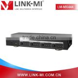 LINK-MI LM-MX444 Ultra HD 4K2K 3D Video Audio 4x4 HDMI Matrix Switcher with RS232
