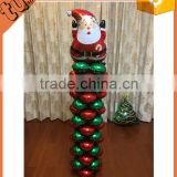Best selling of colorful custome shape foil balloon display stand, balloon arch stand for party decoration
