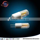 Mingshuai LED G4 filament bulb TUV CE approved replace halogen G4 small bulb