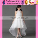 Latest Hot Sale Baby Girl Maxi Dress Flower Organza Baby Girl Maxi Dress