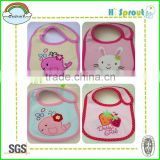 Cartoon Animal Embroidery Baby Bib Carters