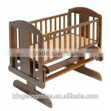 COCO NZ pine wood Baby cradle / Baby Glider crib