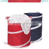 Rare are easy to use at home with foldable oxford cloth wholesale folding net laundry basket
