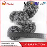 With Super Dirt Removing Ability Copper Galvanized Wire Stainless Steel Clean Ball Wire Scourer Wire For Spiral Scourer