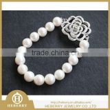 charming baby pearl bracelets in size 9mm match 925 silver buckle wholesale