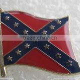 High quality metal National Flag Badge Pin Badge Country Flag Lapel Pin Enamel Friendship Flag