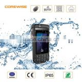 Hot sale OEM high quality chip / emv ic / id / atm card reader waterproof phone with 1d/2d barcode