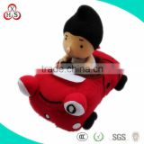 Hot Selling Beautiful Unique lovely baby ride on toy car plush