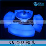 Inquiry about innovative outdoor/indoor decorative illuminated led plastic chair and round table