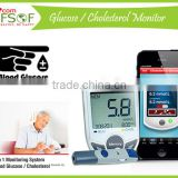 SIFGLUCO-3.1 Fast Testing Bluetooth Blood Glucose Meter, Bluetooth Health Monitoring System