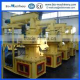 Biomass Vertical ring die wood pellet machine ,pellet press 1.5-2T/Hour with Automatic lubrication/pellets production line