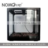 Nomoy pet 60*40*40.5cm screen cage/pet reptile cage pet breeding terrarium with lampholder