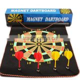 "Fitness fashion sports soft darts plate 16"" roll type magnetic dart board"