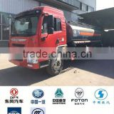 hot selling dongfeng 6x4 chemical liquid tanker truck fuel tank truck