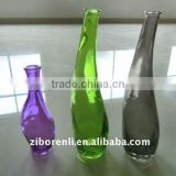 Hot selling high quality Professional stain glass vase for wedding decoration in different shape