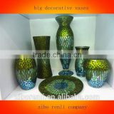 Various Styles Chinese Mosaic Big Decorative Vase