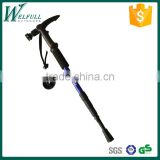 Retractable walking cane with flashlight 5 LED, Aluminum 7075, 4 sections, SZ19003